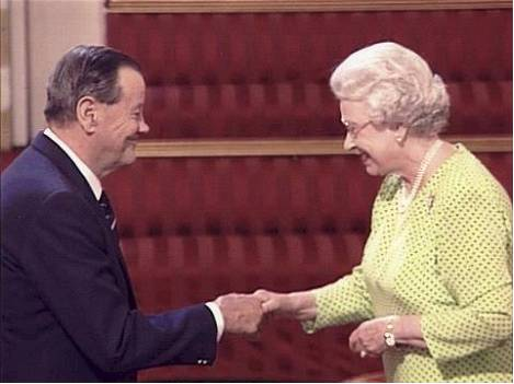 Gerry meets the Queen