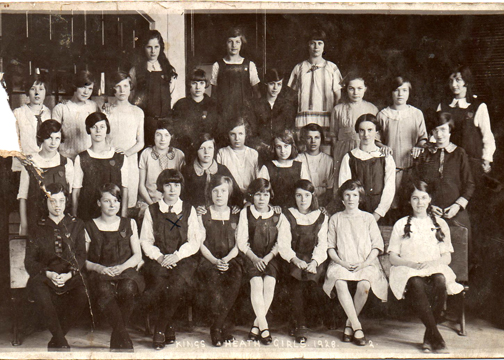 King's Heath junior school 1928
